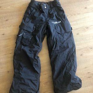 Volvo's youth ski snowboard pants